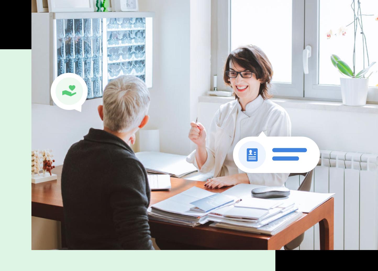 funzionalità software sanitario gestione paziente