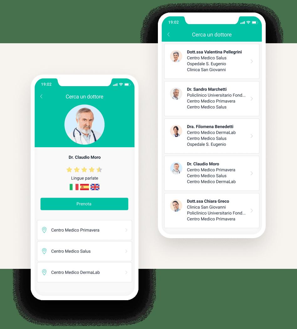 app gestione pazienti poliambulatorio